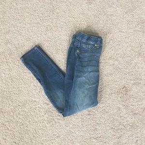 Cat & Jack blue super stretch skinny jeans
